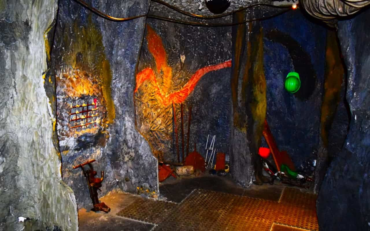 Learn about Tanzanite mining, An example of a boudin at the Tanzanite experience museum