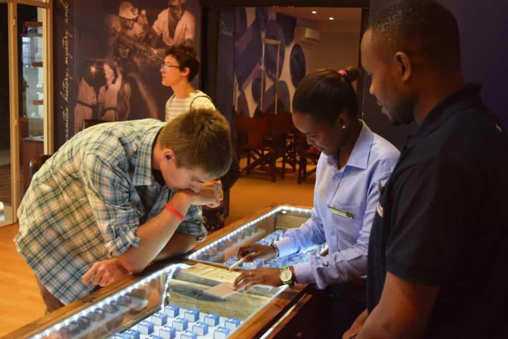 Tanzanite experience museum; a place to visit and shop in Arusha