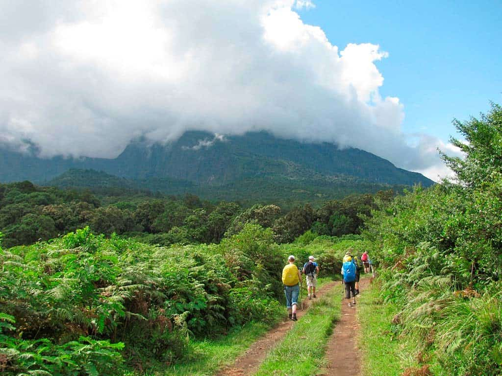 Attractions in Arusha; Mt. Meru trek