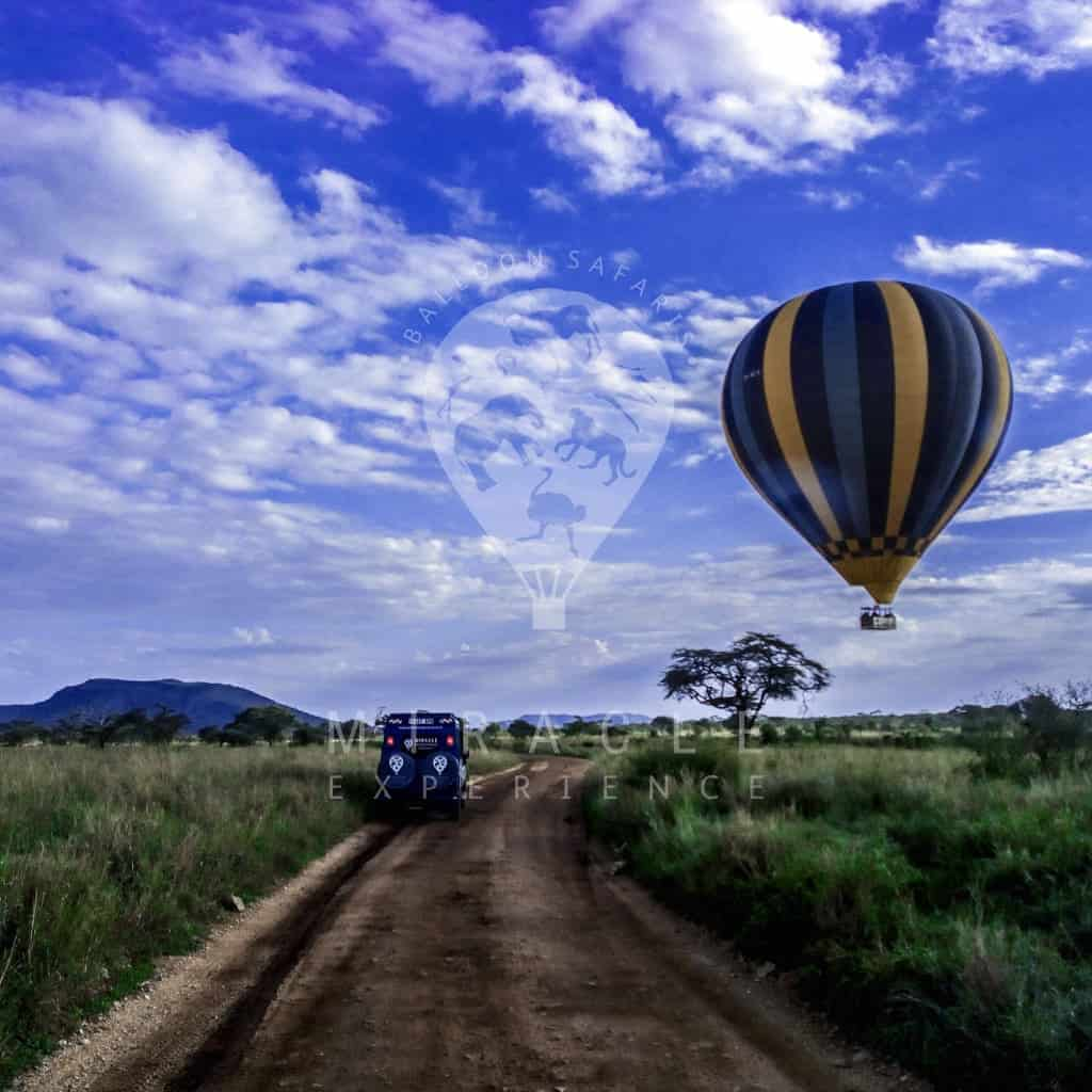 Places to visit; Miracke Experience (Hot Air balloon safaris)