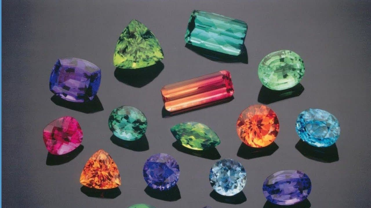 10 of the Most Rare Gemstones in The World | THE TANZANITE