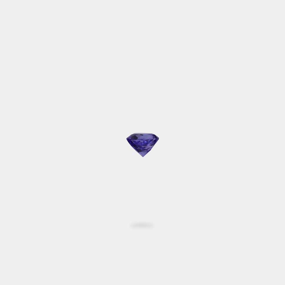 0.74 Carats Round Shaped Loose Stone
