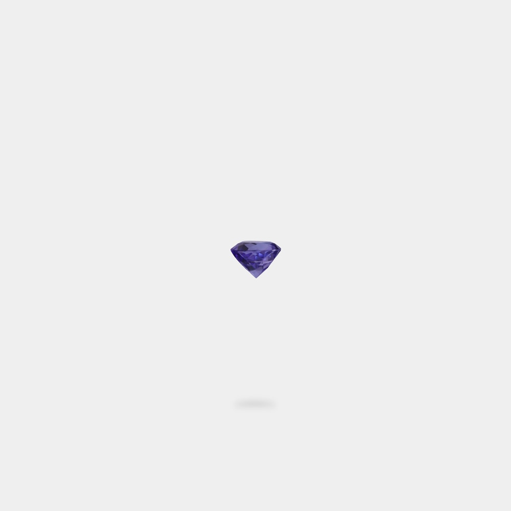 0.38 Carats Round Shaped Loose Stone