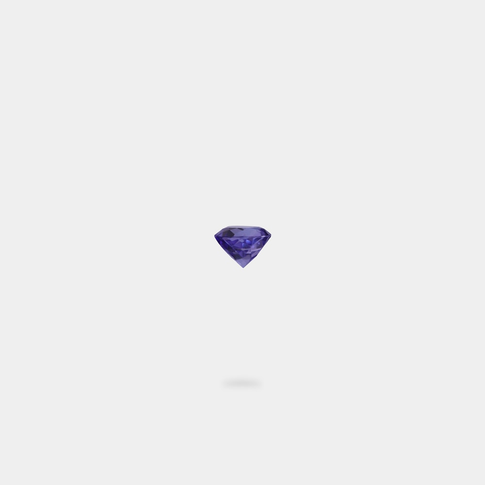 0.81 Carats Round Shaped Loose Stone