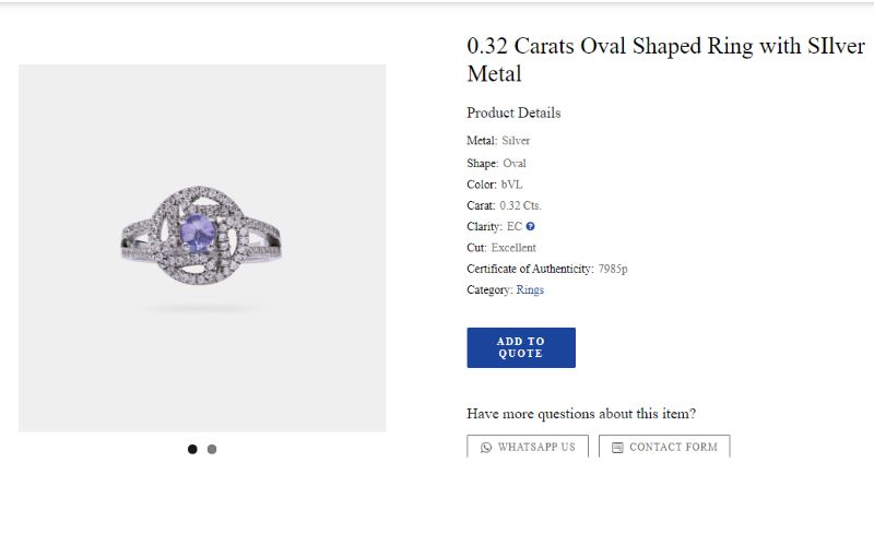 How to purchase Tanzanite Jewelry online